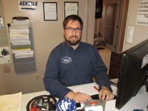 Dustin Todd, Service/Parts