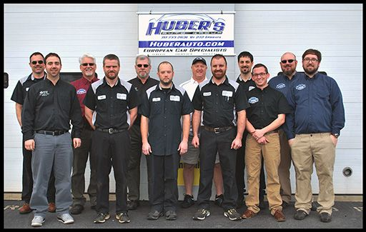 Huber Auto Rental staff