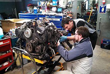 Audi A4 Engine Repair