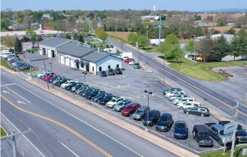 Sales inventory of Huber Auto
