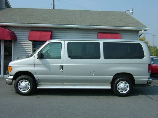 8 - 12 Passenger Van drivers side
