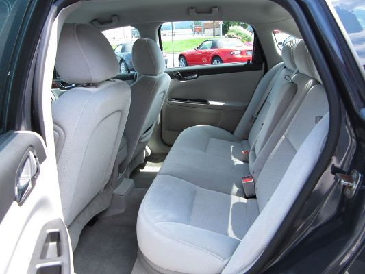 Full Size Car back seat