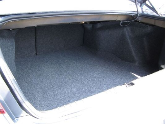 Full Size Car trunk
