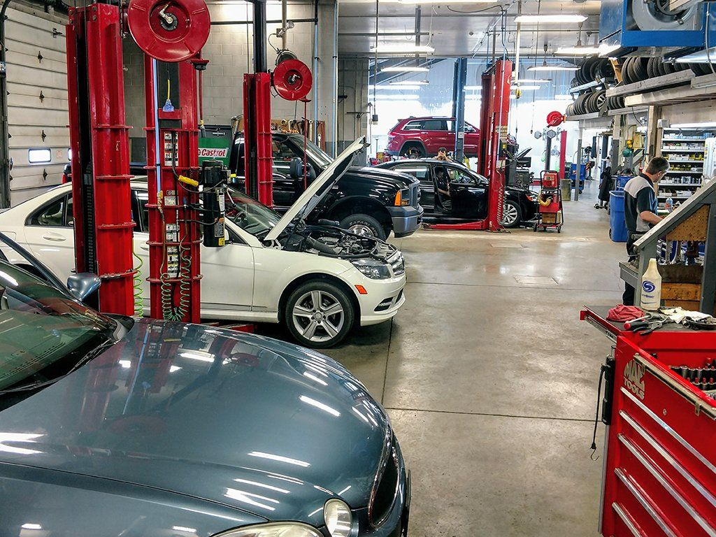 Automotive Repair Shops >> Huber S Auto Group Auto Repair